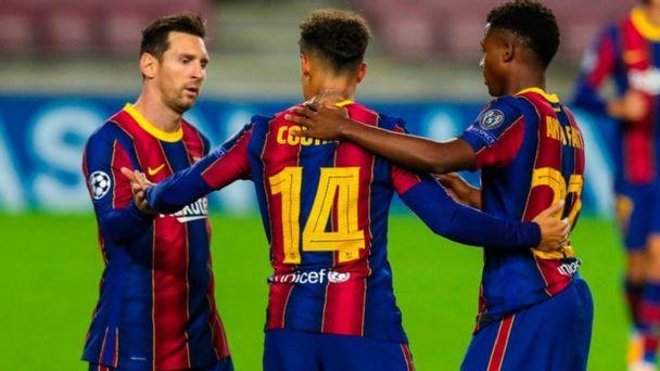 Barcelona Retoma El Triunfo En Champions League Y Vence 5 1 Al Ferencvaros El Heraldo De Mexico