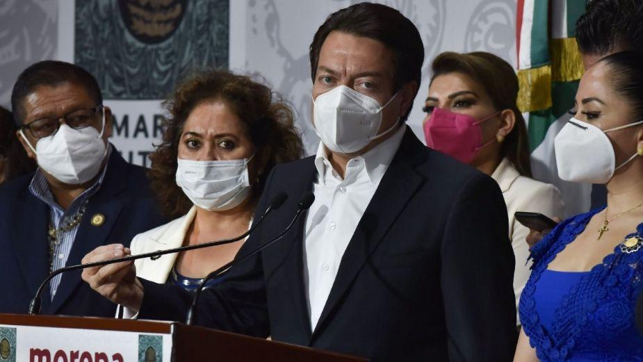 Mario Delgado, virtual presidente de Morena: encuesta del INE