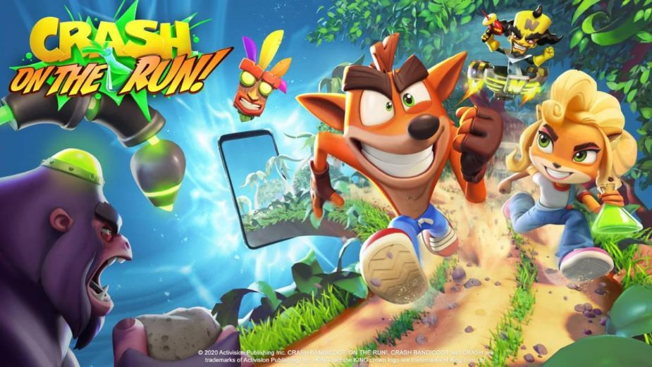 ¿Cuándo sale Crash Bandicoot: On the Run! para iOS y Android? Este video lo revela