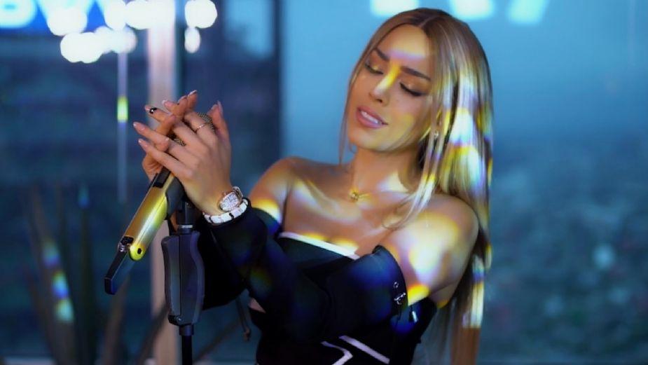 ¿Con dedicatoria a Eleazar Gómez? Danna Paola canta épica CANCIÓN de Selena: VIDEO