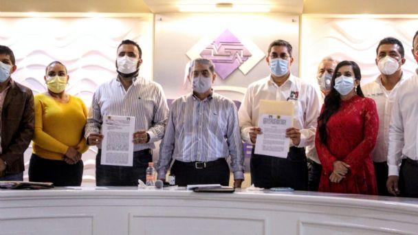 PRI y PRD concretan alianza en Guerrero; van juntos por la gubernatura   El Heraldo de México