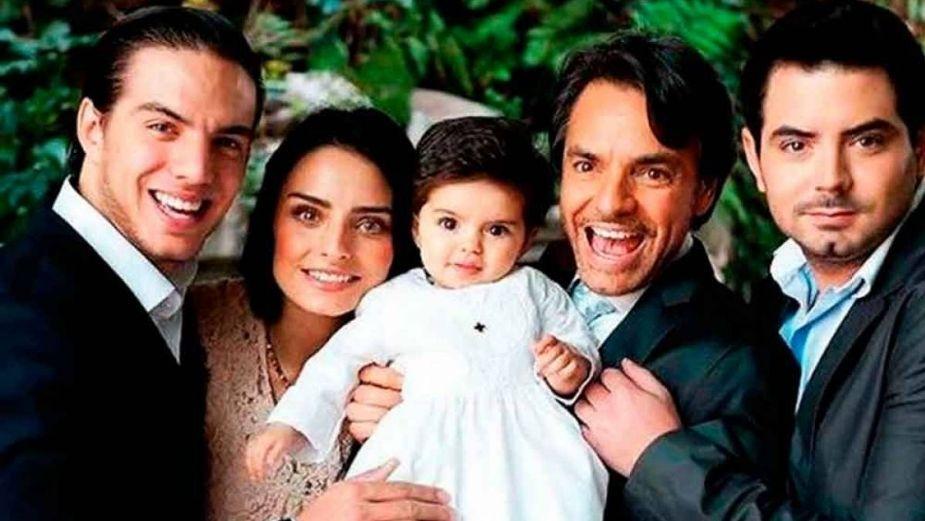 Él es el hijo de Eugenio Derbez BAUTIZADO en honor a Diego Maradona; ¿lo sabías?: FOTO