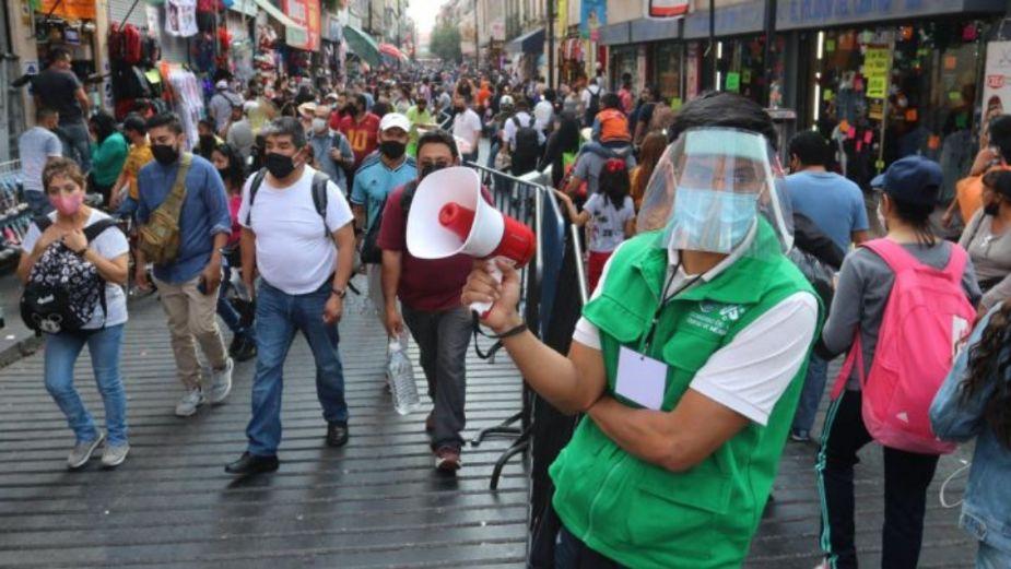 México registra el día de mayor número de contagios desde que inició la pandemia
