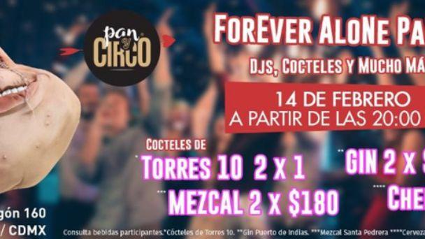 Fiestas para solteros en CDMX ¡incluimos promociones para solteros!
