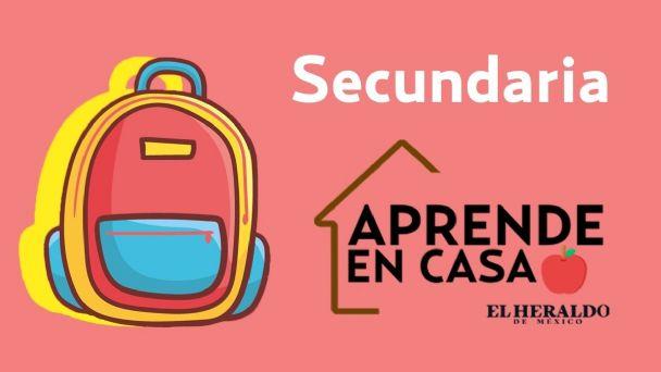 Preguntas Aprende En Casa 3 Sep Secundaria 15 De Febrero Actividades Y Respuestas El Heraldo De Mexico