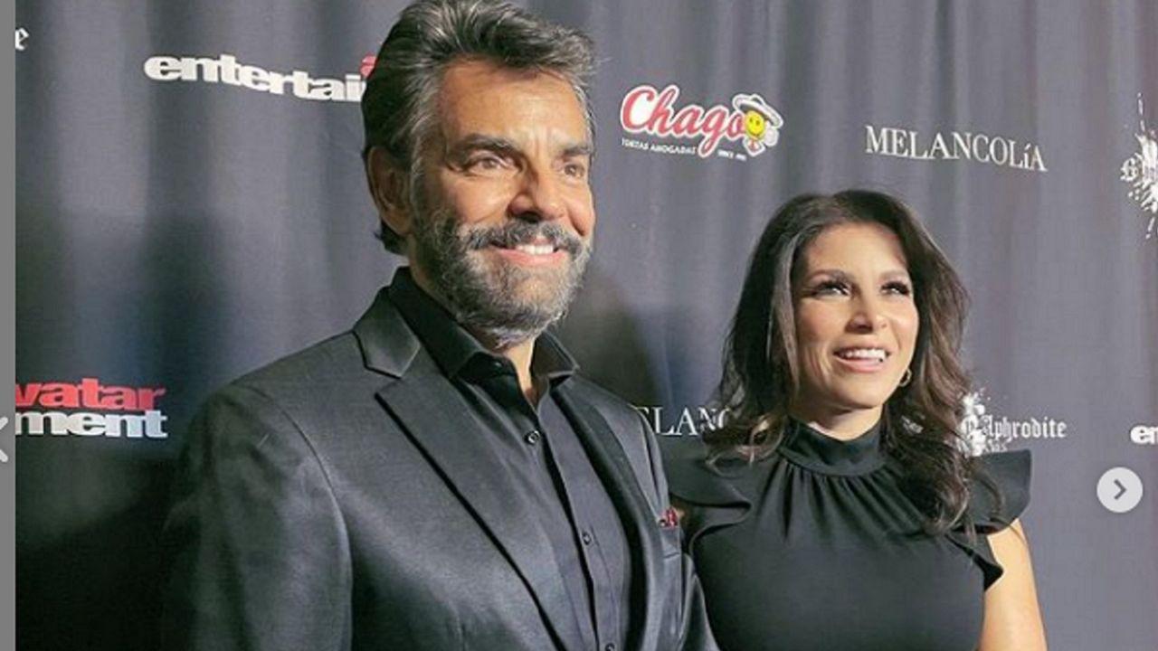 Eugenio DERBEZ acompañó a Alessandra Rosaldo a la premiere de su película y esto dijo de ella: VIDEO