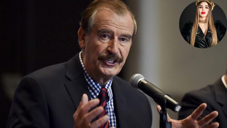 """Vicente Fox opina tras captura de Emma Coronel: """"AMLO saldrá al rescate, no te preocupes"""""""
