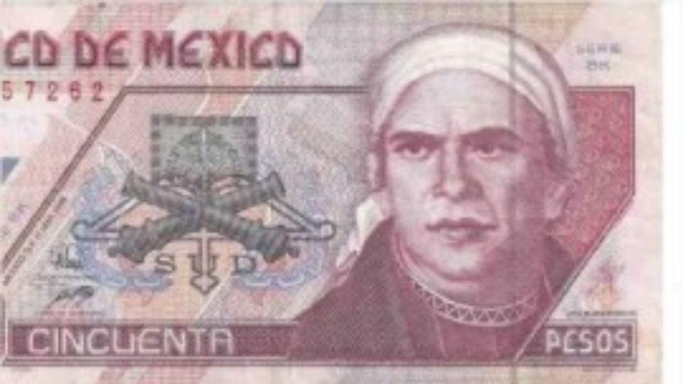 ¿Cuál es el billete de 50 pesos que puedes vender en más de 6 mil en Internet?  FOTO: Especial