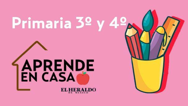 Preguntas Aprende En Casa 3 Sep Primaria 3 Y 4 5 De Febrero Actividades Y Respuestas El Heraldo De Mexico