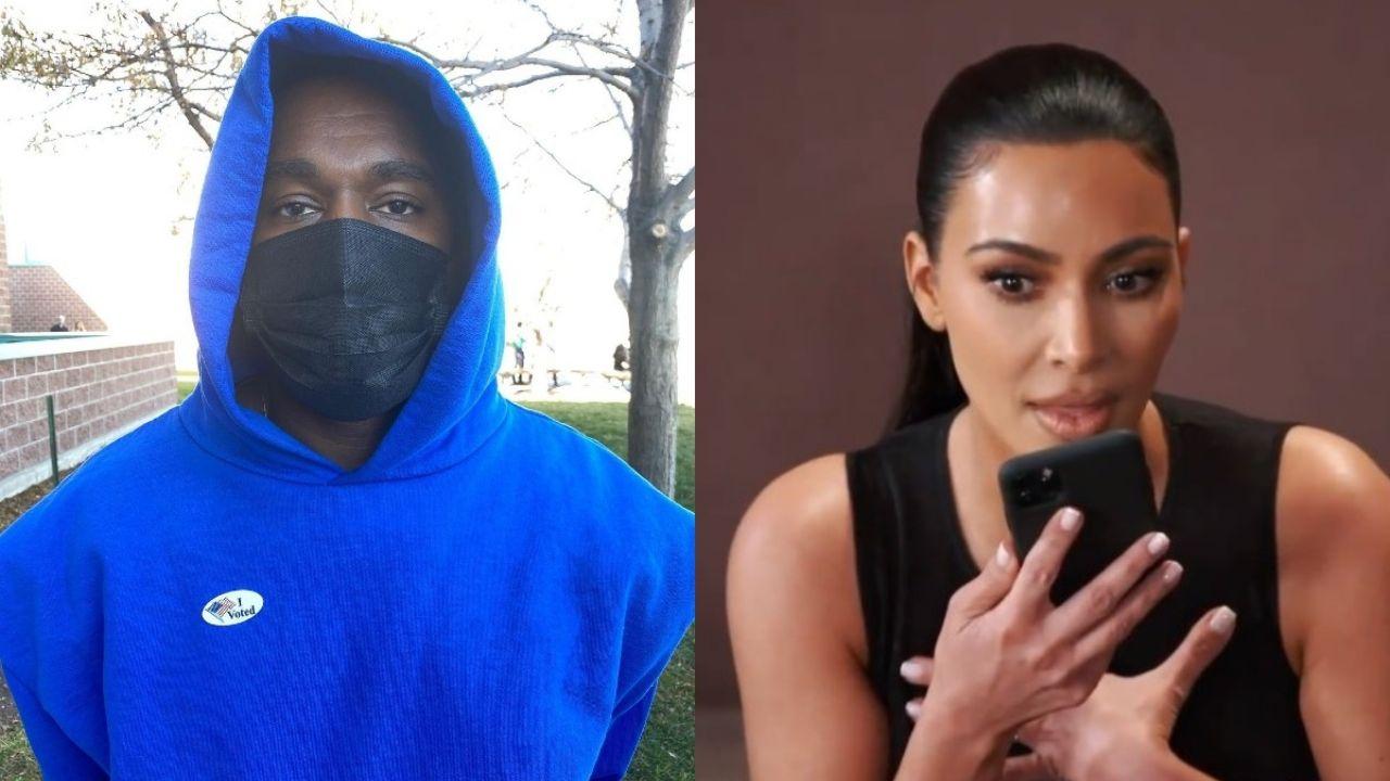 Kanye West da cortón a Kim Kardashian, cambió su número y NO quiere hablar con ella