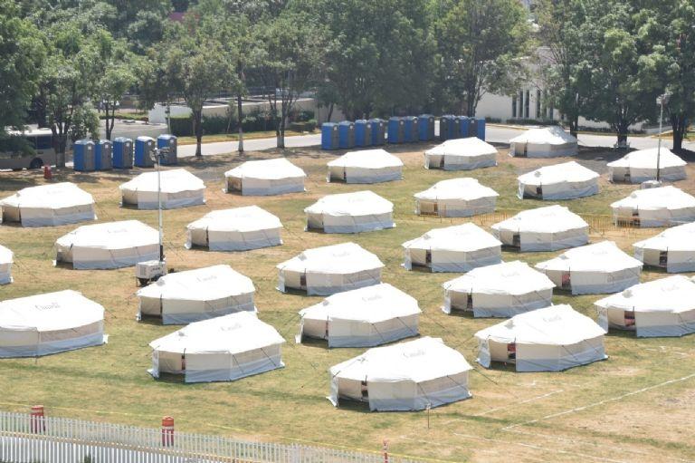 La Marina opera Centros de Aislamiento Voluntario por COVI19 en la CDMX F768x1-337713_337840_5050