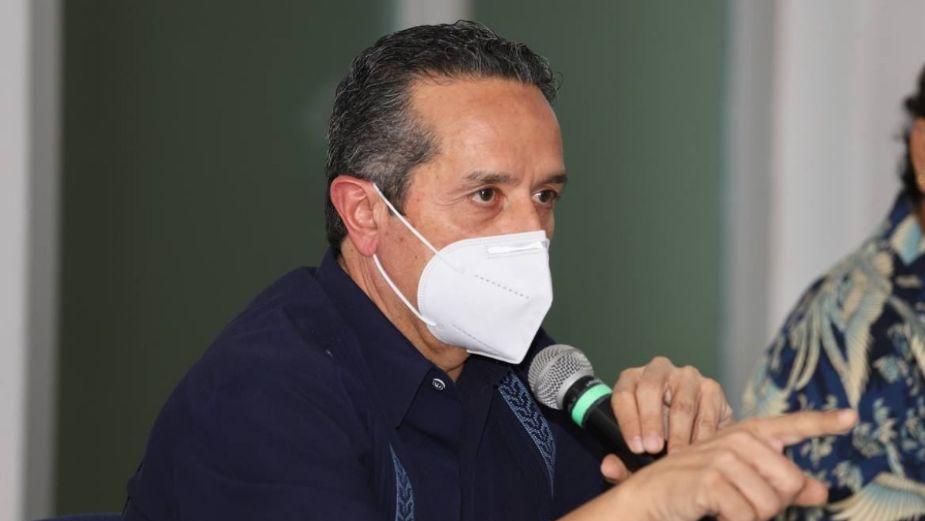 Marina pronostica arribo moderado de sargazo a Quintana Roo: Carlos Joaquín