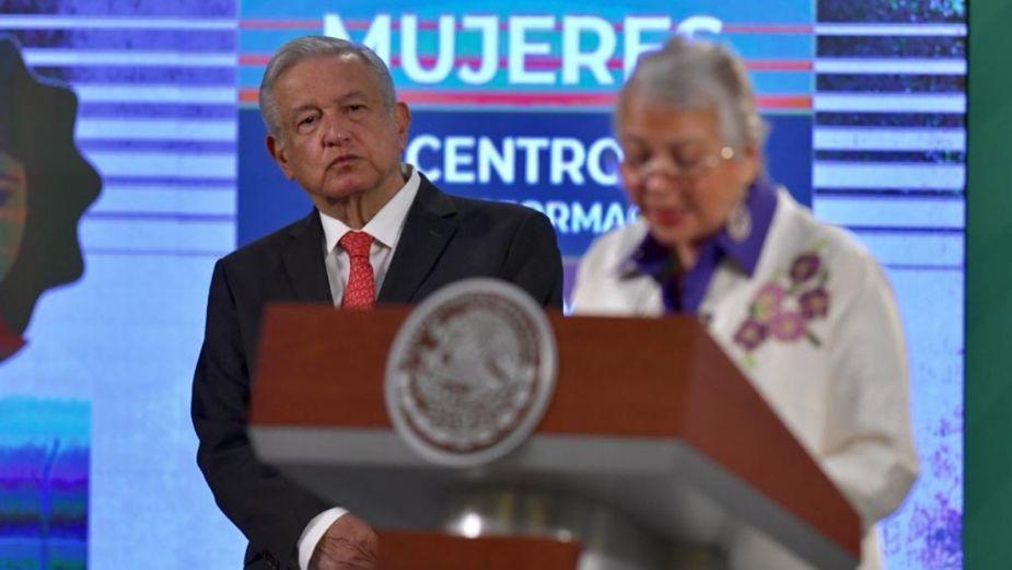 Este gobierno se mueve hacía la igualdad de género, afirma Sánchez Cordero