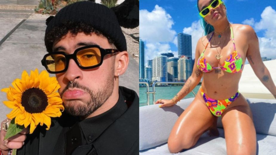 Anuel AA y Bad Bunny lanzan TREMENDA indirecta a Karol G mientras estaban de fiesta: VIDEO