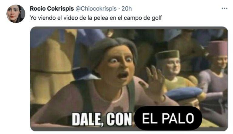 Los mejores MEMES de la pelea de mirreyes en el club de golf de Querétaro |  El Heraldo de México