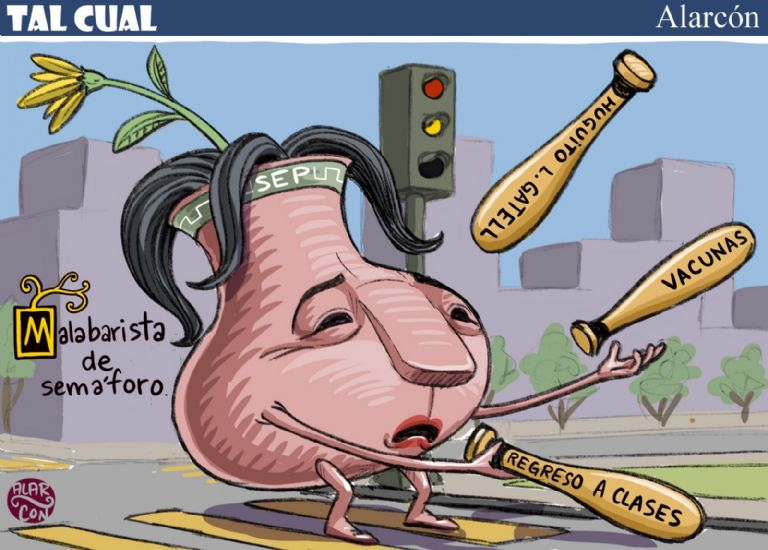 Malabarista de semáforo - Alarcón