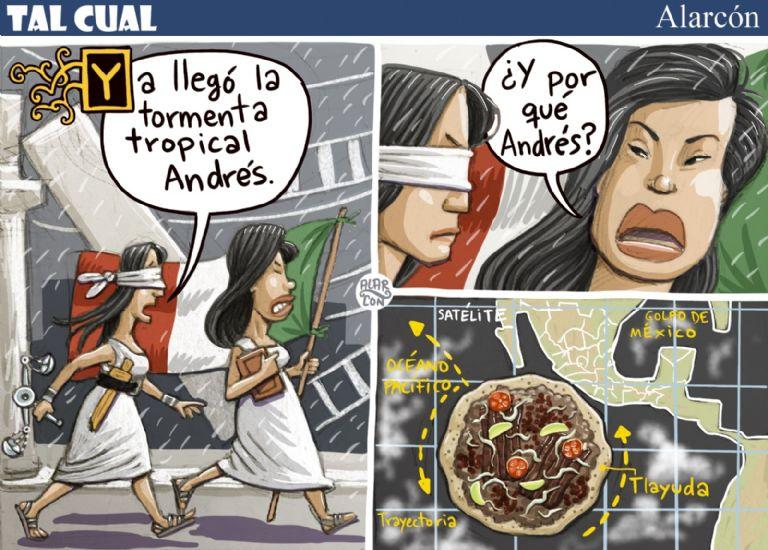 Tormenta Andrés - Alarcón
