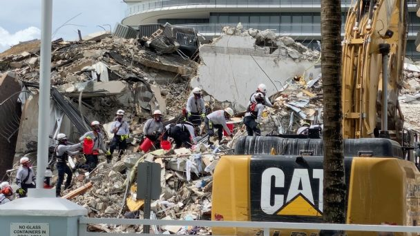 Mexicanos apoyan en labores de rescate en Miami | El Heraldo de México