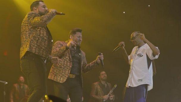Snoop Dogg y Banda MS se presentan, por primera vez, juntos en concierto | El Heraldo de México