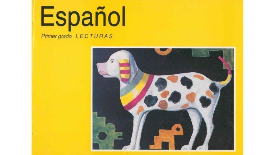 Libro 'Español Lecturas de Primer Grado'. Foto: Especial