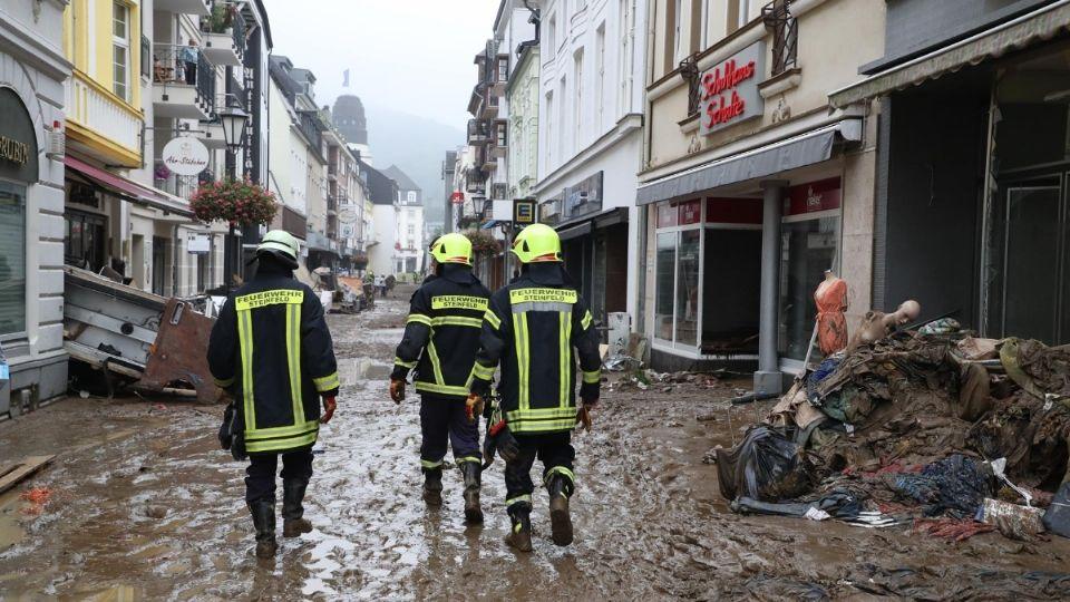 Las autoridades de Renania- Palatinado aumentaron en 10 hasta los 60 fallecidos la cifra total provisional respecto al recuento precedente. FOTO: EFE