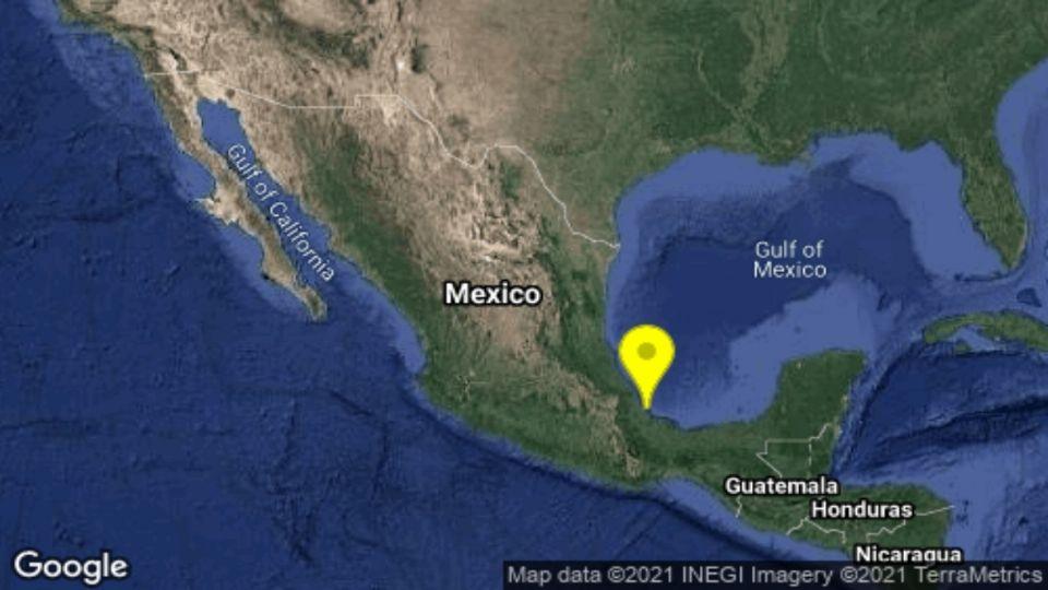 Sismo de magnitud 4.9 despierta a veracruzanos este miércoles | El Heraldo  de México