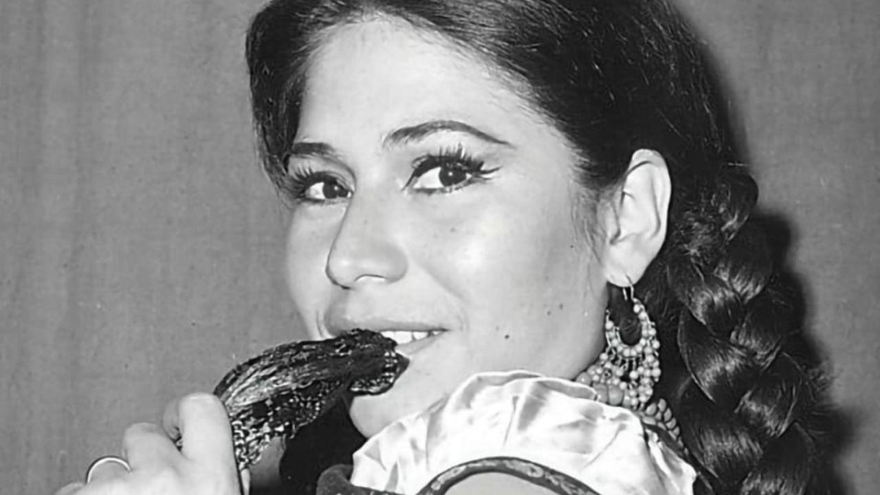 La India María comenzó como vedette en el cine mexicano; así lucía su figura