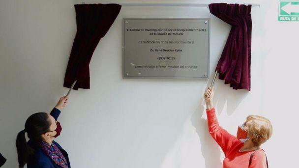 Claudia Sheinbaum inaugura Centro de Investigación para el Envejecimiento |  El Heraldo de México