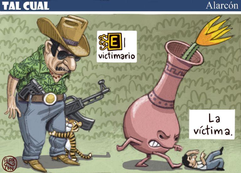 La víctima - El victimario