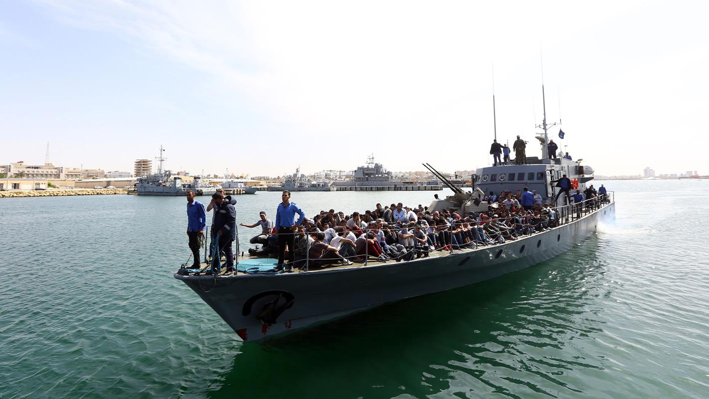 Asilo. Foto: AFP