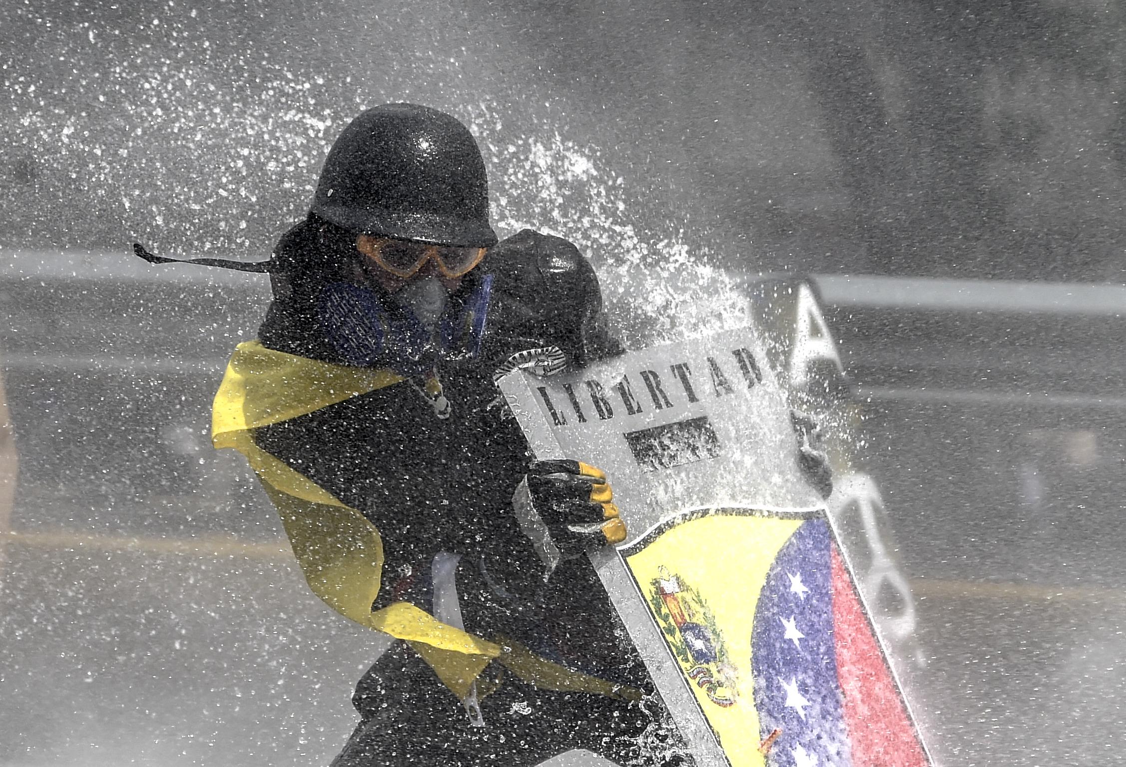 Dispersan protesta contra Asamblea Constituyente enVenezuela