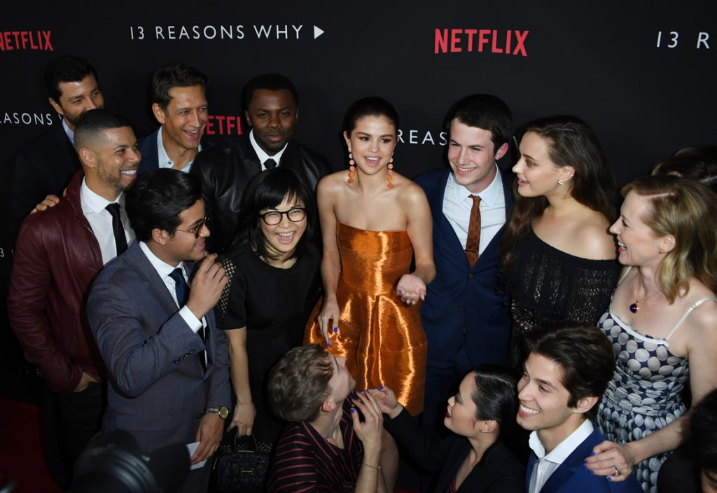 Serie '13 reasons why?'. Foto: AFP