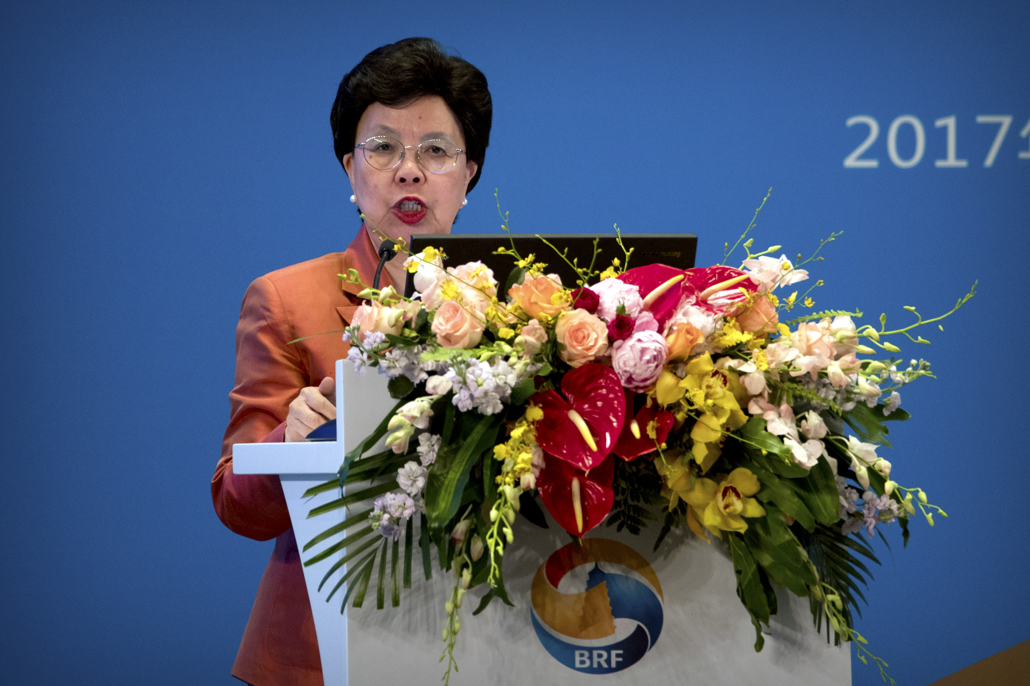 Margaret Chan, directora de la OMS. AFP