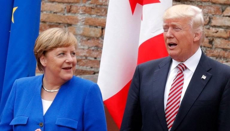 El cruce de reproches entre la canciller alemana, Angela Merkel, y el presidente de EU, Donald Trump, pone a prueba un eje transatlántico