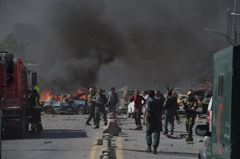 Al menos 80 muertos y más de 300 heridos por atentado en Kabul