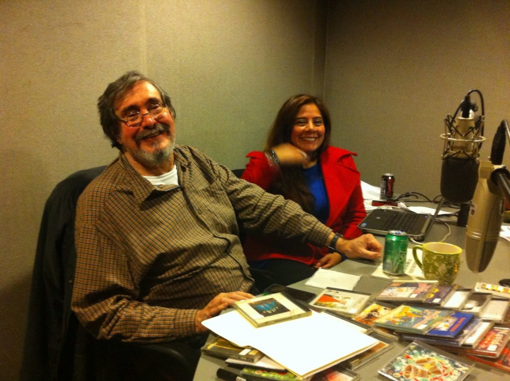 Marcelino Perelló en el extinto programa de radio 'Sentido Contrario'. FOTO: Facebook Marcelino Perelló