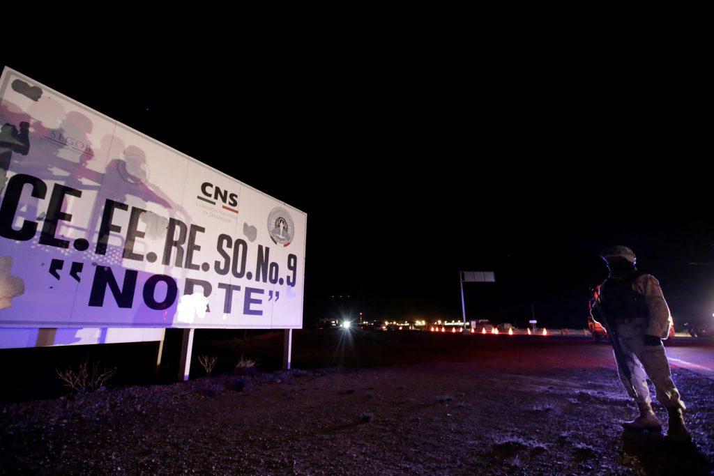 EL Cefereso norte es la prisión a la que fue trasladado Dámaso López, 'el Licenciado', considerado sucesor del Chapo. FOTO: REUTERS