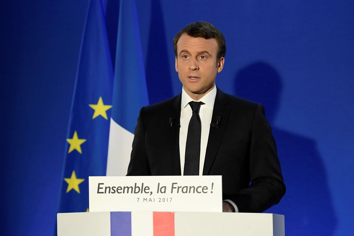 Emmanuel Macron. Foto: Reuters