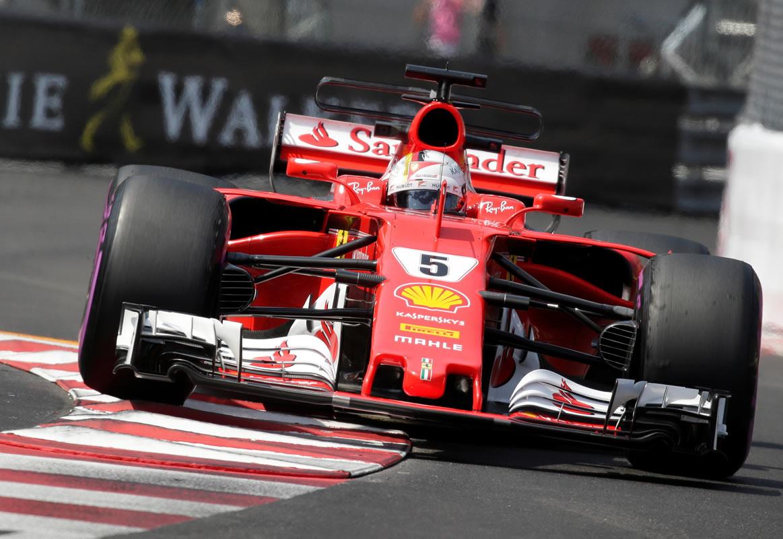 Sebastian Vettel. Foto: Reuters