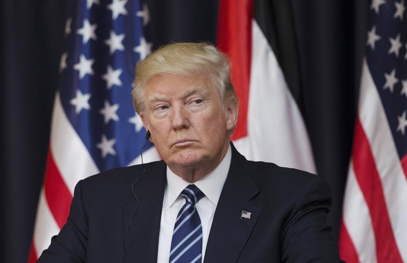 El presidente Trump solicitó en general un presupuesto para el Departamento de Estado de 37.6 mil millones de dólares. FOTO EFE