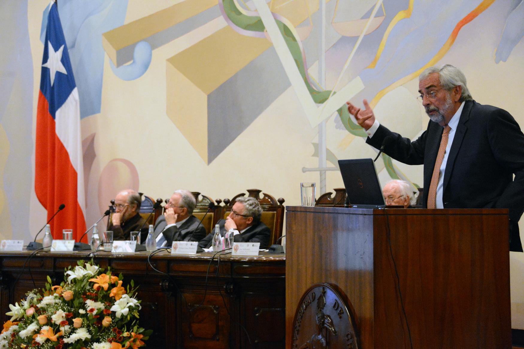 Enrique Graue, durante su participación en la VIII Asamblea General de la Red de Macrouniversidades de América Latina y el Caribe. NOTIMEX/FOTO/BENJAMIN CHAIRES-UNAM/COR/EDU/MIGRA16/