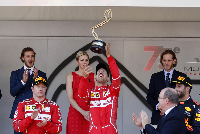 Sebastian Vettel. (AP Photo/Frank Augstein)