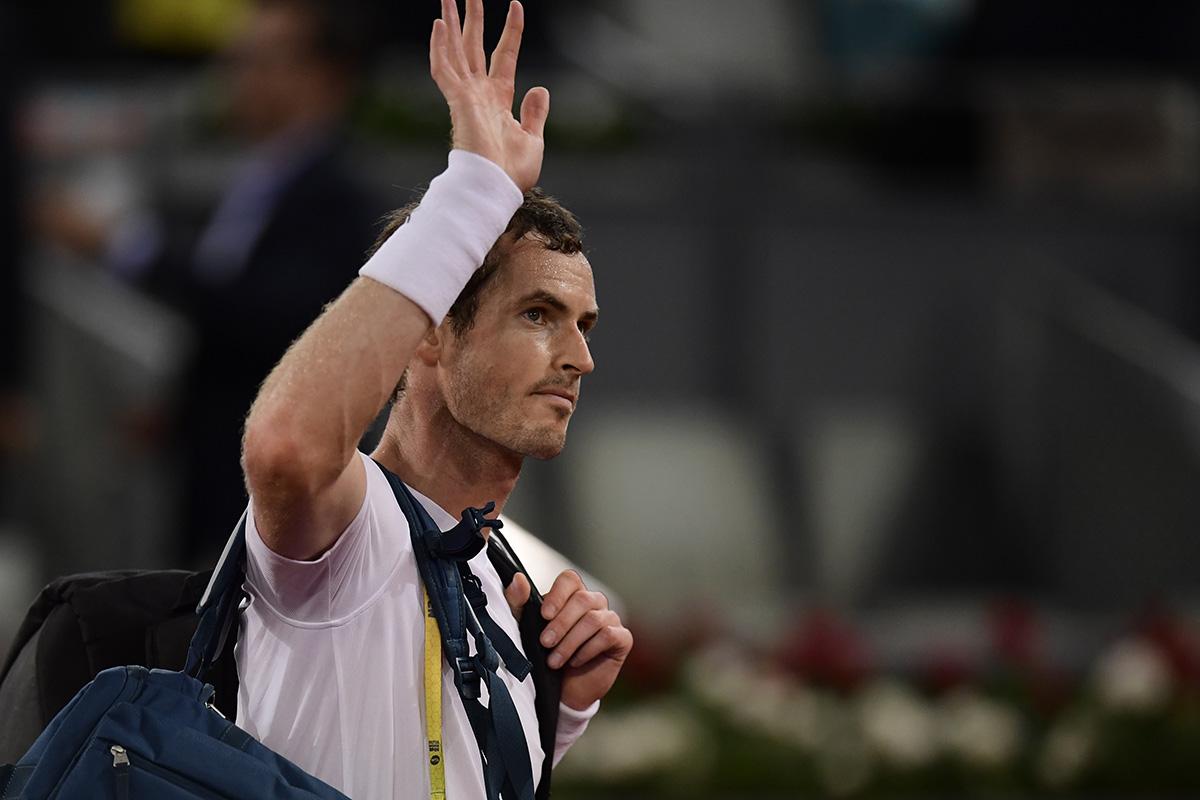 FOTO AFP. Murray no ha tenido un buen 2017