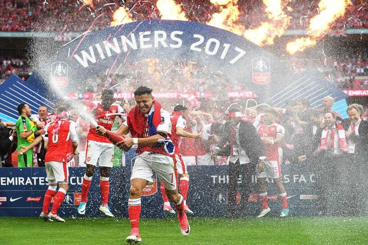 FOTO EFE. Arsenal es el equipo más ganador de la FA Cup con 13