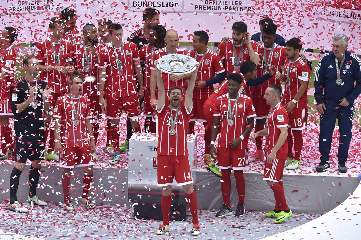 FOTO AFP. Dominio absoluto del Bayern en Alemania