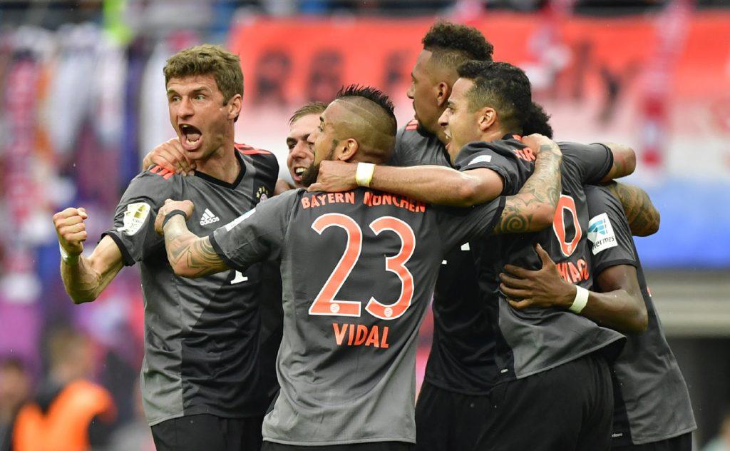 FOTO AFP. Bayern Munich es pentacampeón de la Bundesliga