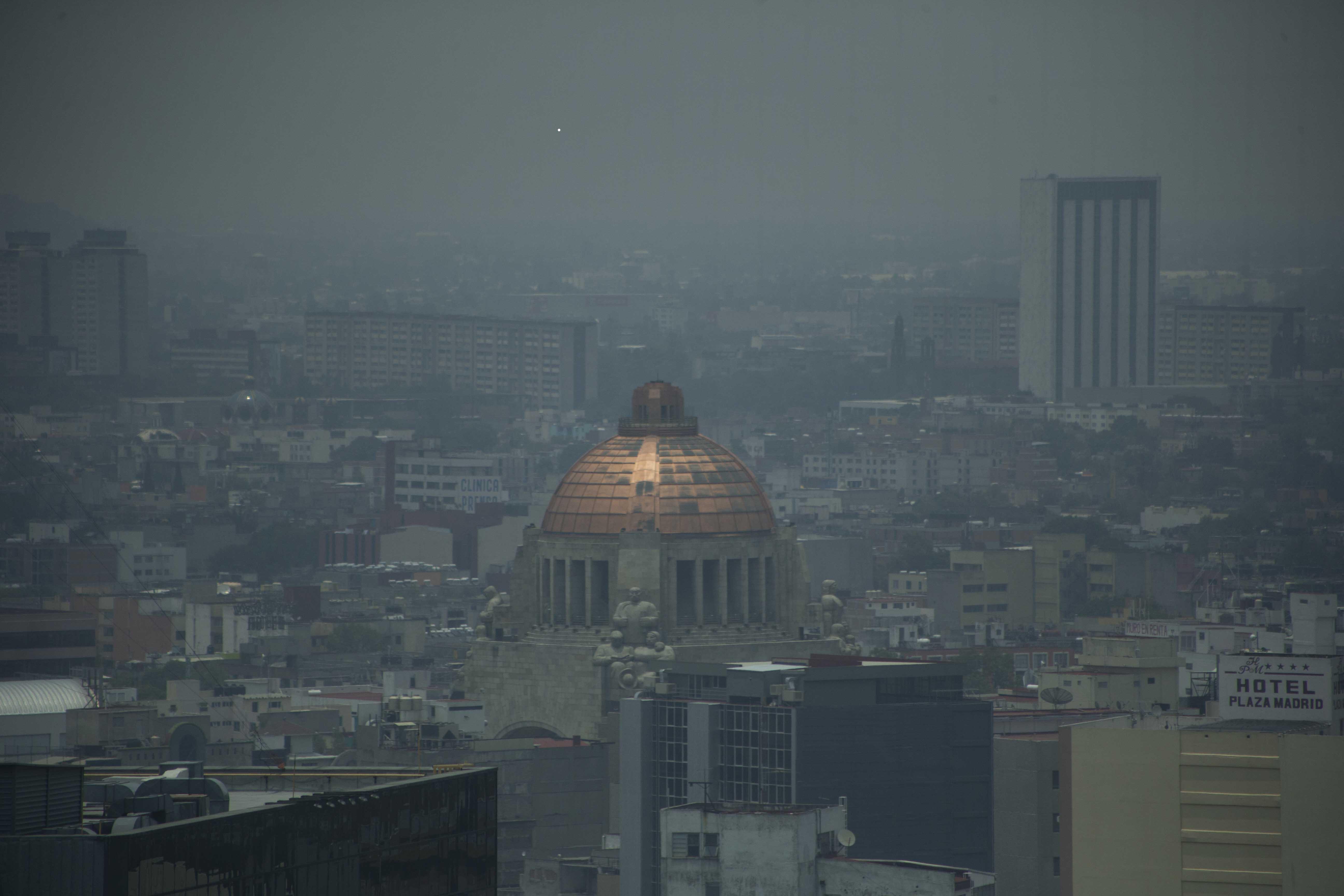 Escasea el aire limpio en la Ciudad de México