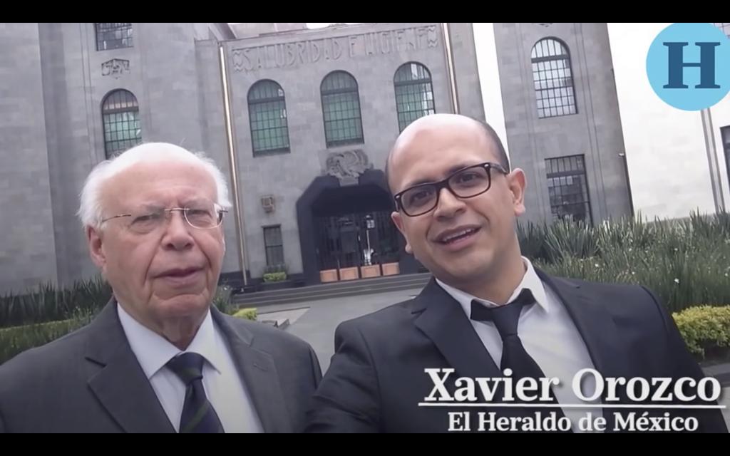 Jose Narró apadrina #SelfieLaEntrevista de Xavier Orozco