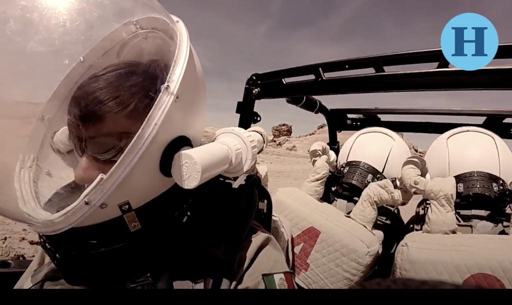 Yair Piña, el mexicano en el simulacro de la misión a Marte