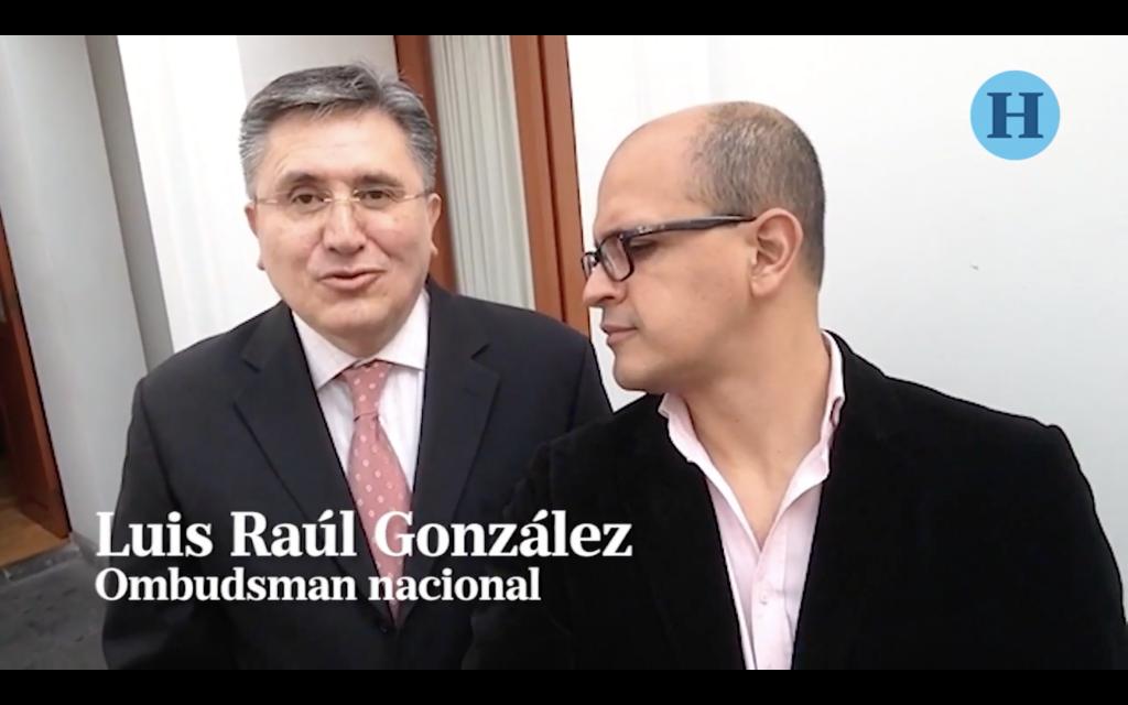 #SelfieLaEntrevista Luis Raúl González, Ombudsman nacional